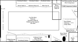 car workshop plans. floor plan 12\u0027 x 24\u0027 single car garage workshop plans s