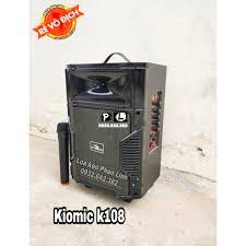 Loa di động Kéo Karaoke Bluetooth Kiomic K108 cực hay - BH 6 tháng giảm chỉ  còn 719,000 đ