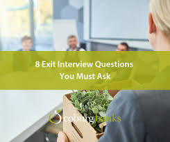 Good Interview Questions To Ask A Business Owner 8 Exit Interview Questions You Must Ask Coburg Banks
