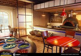 Pizza Shop Interior Design Rajawats Portfolio Pizza Shop