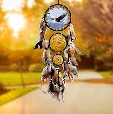 Dream Catchers For Your Car To ward off bad luck and protect you and your family wolf eagle 69