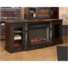 W880 68 Ashley Furniture Mallacar Xl Tv Stand W fireplace Option