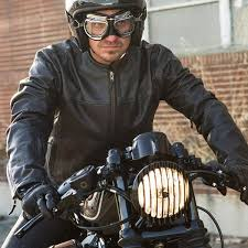 roland sands design barfly leather jacket black thumb 3
