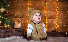 Baby Pics With Christmas Lights Cute Baby Photos Garland Christmas Lights Cowl Big Happy