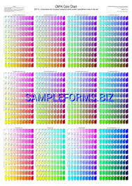 Cmyk Color Chart Pdf Free 1 Pages
