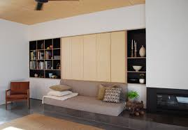 built in storage by raw edge furniture custom built cabinetry plywood formply built in study furniture