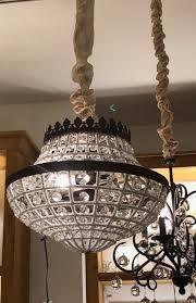 299 pottery barn dalila beaded crystal chandelier
