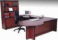 timber office furniture. regent veneer desk timber office furniture