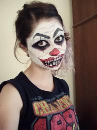 scary clown makeup ideas photo 1