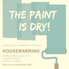 Free Online Party Invitations With Rsvp House Warming Party Invitation Housewarming Party Invitation Sample
