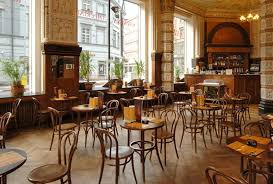 bentwood chairs in french bistro