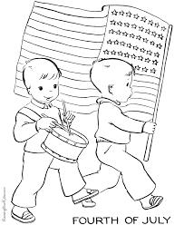 Hex colors #ffffff, #b22234, #3c3b6e. American Flag To Print And Color 008
