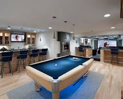 purpose rec room. allpurpose basement u003d perfect man cave iu0027d go with a lot more traditional design but you have your bar and seating pool table theater in one purpose rec room