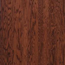 bruce oak cherry 3 8 in thick x 3 in wide x random length engineered hardwood flooring 30 sq ft case evs3238 the home depot