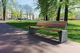 Modern Street U0026 Site Furnishings  Products  Park Benches  RadiumModern Park Benches