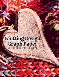 Knitting Design Graph Paper 40 Stitches To 50 Rows Create Knitwear