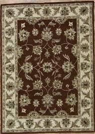 details about classic traditional fl 8x10 nourison brand agra oushak oriental area rug new