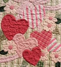 There's a whole day to celebrate love! Happy Valentine S Day Quilts Heart Quilt Vintage Valentines