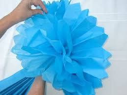 How To Make A Flower Out Of Tissue Paper Step By Step How To Make Tissue Pom Paper Flowers Design Dazzle