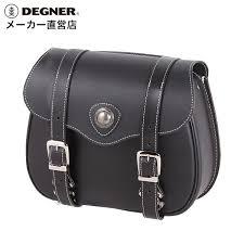 degner degner harley side bag leather motorcycle leather premium leather saddle