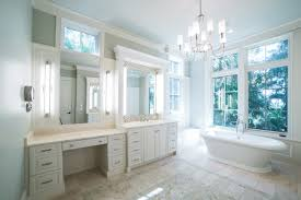 spacious all white bathroom. Spacious Master Bathroom | Elegant White Freestanding Tub Southern Elegance Interior Design All P