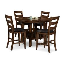 Value City Dining Room Tables Harbor Pointe 5 Pc Counter Height Dinette Value City Furniture