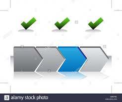 Arrow Chart Blue Arrow Chart Stock Vector Art Illustration Vector