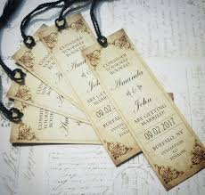 bookmark save the date a love story save the date bookmarks hoopla house custom wedding