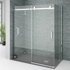 orion frameless sliding shower enclosure 1600x800mm at victorian plumbing co uk