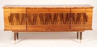 Art deco furniture 1930s Luxe French Art Deco Buffet Sideboard In Blonde Macassar Ebony Portalstrzelecki Le Deco Style High Quality Art Deco Antique Furniture