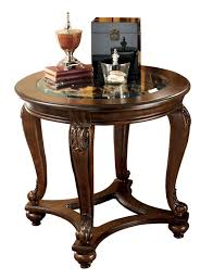 ashley furniture norcastle end table to enlarge