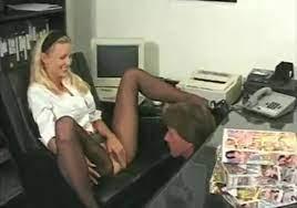 Pussy Licking Under Desk