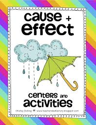 Its For A Good Cause And Effect Teacher Idea Factory Free ...