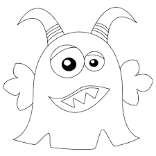 Cute Monster Coloring Pages - GetColoringPages.com