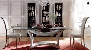 selva tzsar glass dining set