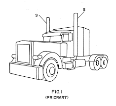 peterbilt coloring pages coloring page cartoon a peterbilt 386 semi truck