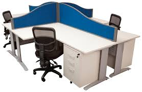 office workstations desks. Space System 4 Way Workstation Cluster \u2013 1500 X 1800 Office Workstations Desks E