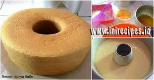 Resep Sponge Cake Yang Lembut Meski Tanpa Pengembang Sama Sekali