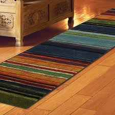 2 8 rainbow rug runner for interior and stair decor idea