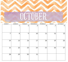 Printable October Calendar Printable October Calendar Printable Calendar Birthday Cards