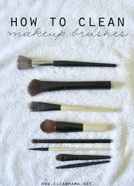 when was the last time that you washed your makeup brushes this super simple task is easy to neglect but it s a cleaning task that you can do in under five