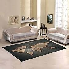 world map area rug com custom grunge world map area rug 5 3 indoor soft vintage