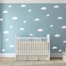clouds wall sticker baby nursery cloud