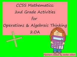 Flip Chart Covers Second Grade Math Promethean Classflow Flip Chart Ccss 2 Oa With Quiz
