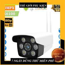 Camera wifi giám sát ngoài trời Yoosee, camera giám sát với 6 đèn led Full  HD - hồng ngoại quay đêm giảm chỉ còn 406,000 đ