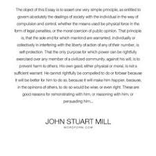 john stuart mill if all mankind minus one were of one opinion  john stuart mill greatest happiness principle essay essay i will be explaining john stuart mill s view on ethics this includes explaining the ""