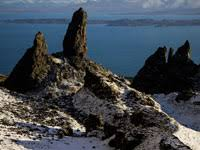 <b>Old Man</b> of Storr on the Isle of Skye in Scotland.
