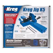 Kreg Jig Different Thickness Kreg Jig K5 Pocket Hole Jig System Ultimate Tools