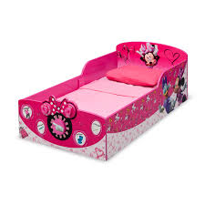 Minnie Mouse Bedroom Accessories Delta Children Minnie Mouse Toddler Bed Reviews Wayfair