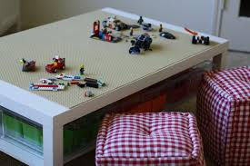 lego ikea table using lack coffee table